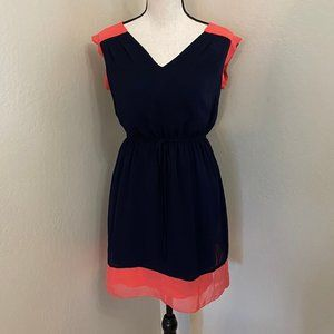 Enfocus Petite 4P Color Block Summer Sun Dress